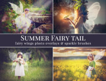 fairy tail photo overlays