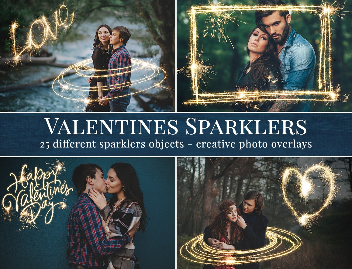 Valentines Sparklers – Preview