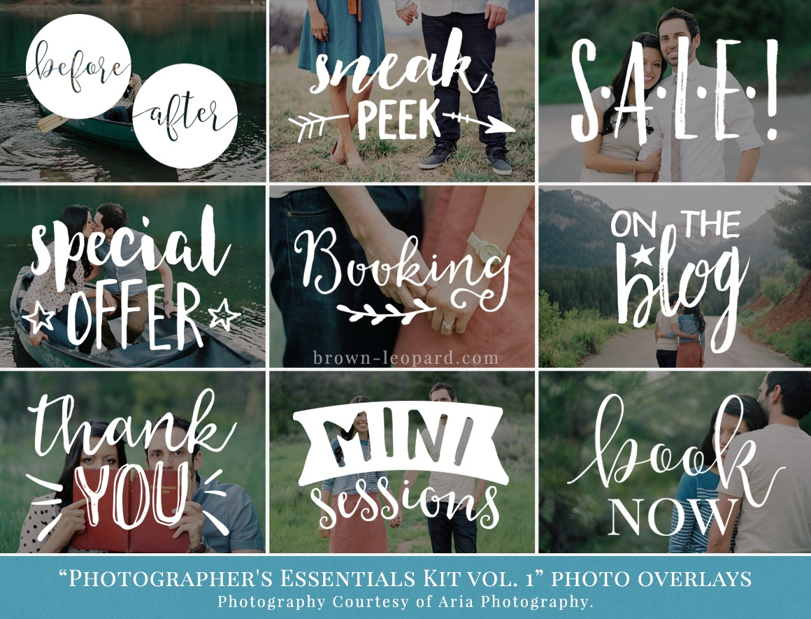 Essentials Kit photo overlays
