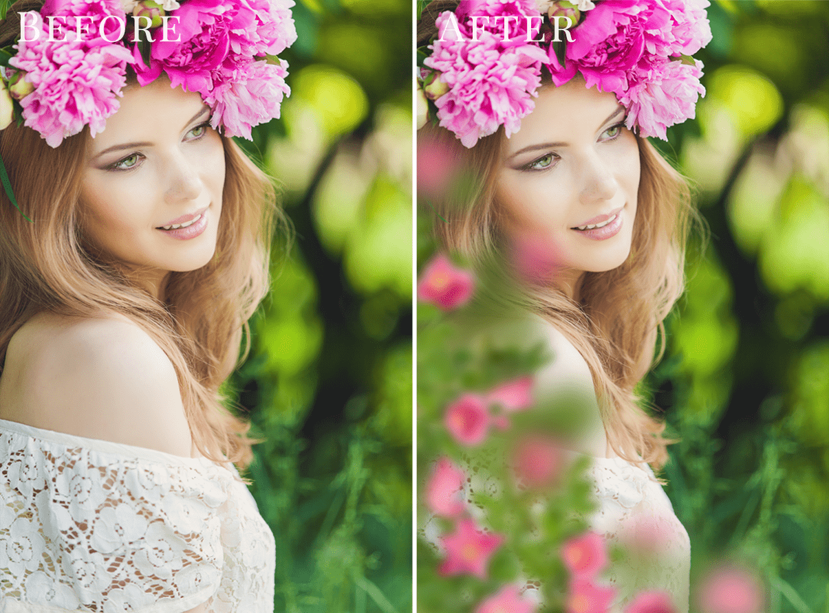 spring photo overlays