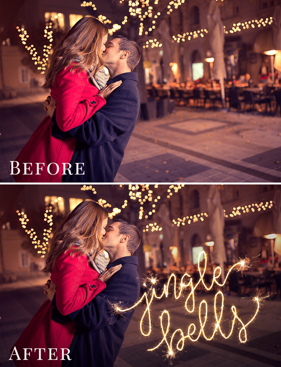 sparklers photo overlays