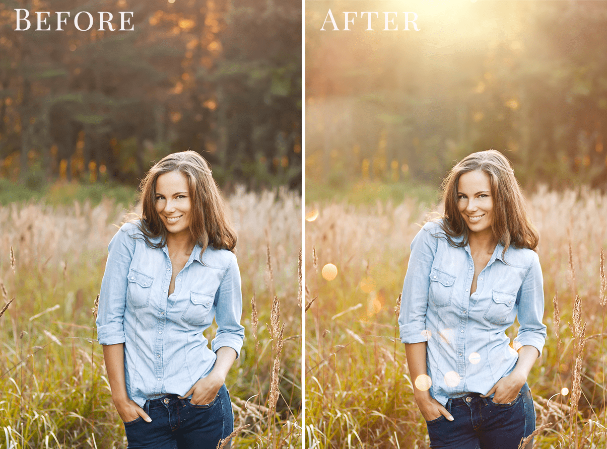 light photo overlays