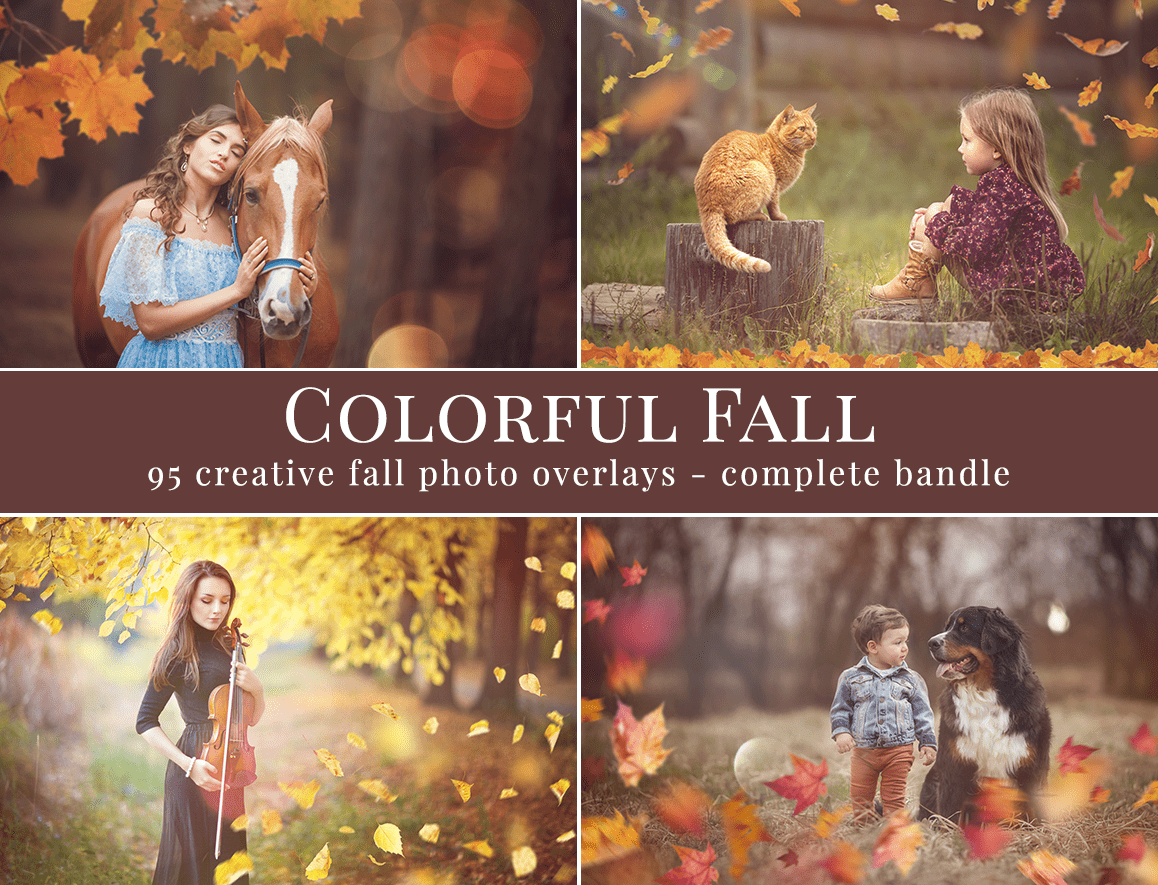 fall photo overlays
