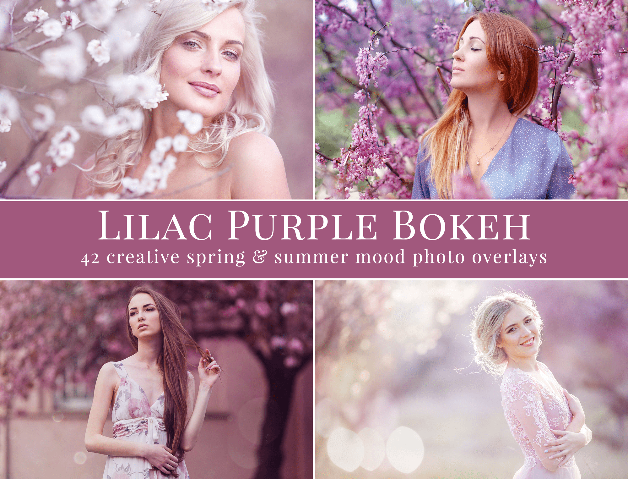 purple bokeh photo overlays