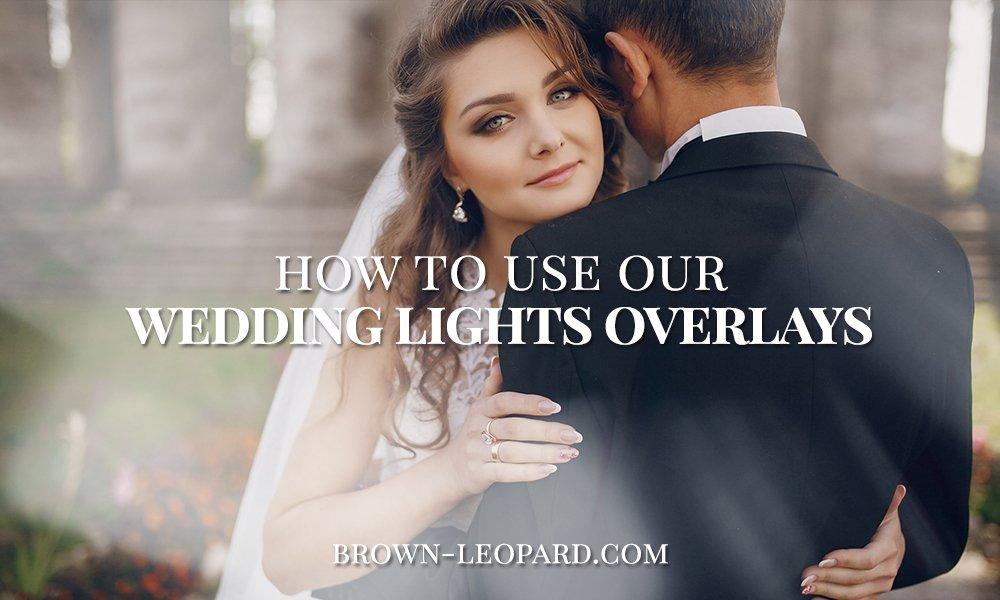wedding lights photo overlays tutorial
